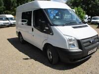 2013 Ford Transit 2.2TDCi CREW CAB 6 SEATER 280 SWB 90000 MILES GUARANTEED
