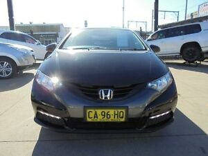 2013 Honda Civic 9th Gen MY13 VTi-S Black 5 Speed Automatic Hatchback