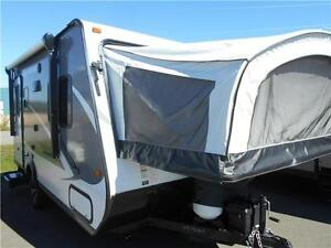 WOW!!! Jayco 17Z Hybrid with 2 Queen Bunks, only 3143 lbs. UVW.