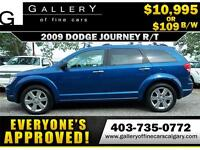 2009 Dodge Journey R/T $109 bi-weekly APPLY NOW DRIVE NOW