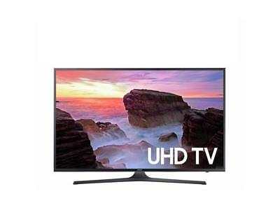 "Samsung UN43MU630DFXZA 4K 43"" LED TV, Black"