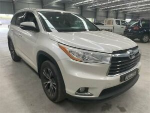 2016 Toyota Kluger GSU50R GXL 2WD White 8 Speed Sports Automatic Wagon Boolaroo Lake Macquarie Area Preview
