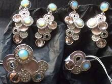 Galaxy Rings & Earrings Sets  x 2  **Brand New Ferryden Park Port Adelaide Area Preview