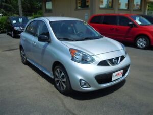 2015 NISSAN MICRA S- REAR VIEW CAMERA, BLUETOOTH, ALLOY WHEELS,