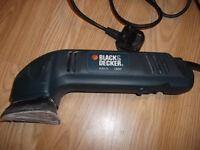BLACK&DECKER corner sander 230 V