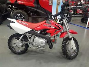 2018 Honda CRF50F - Demo Bike in just in time for the holdays!