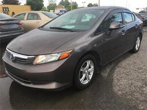 2012 Honda Berline Civic LX A/C BLUETOOTH CRUISE MAGS AUTO