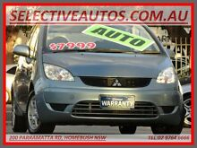 2008 Mitsubishi Colt RG MY08 VR-X Blue Continuous Variable Hatchback Homebush Strathfield Area Preview