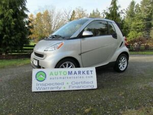 2008 Smart fortwo PASSION CABRIOLET, AUTO, INSP, WARR, FINANCE!