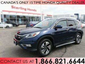 2016 Honda CR-V TOURING | AWD | RUNNING BOARDS | HITCH | 1 OWNER