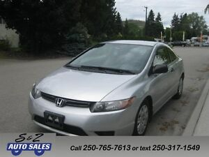 2006 Honda Civic DX-G 77000 KM! 2 sets of tires