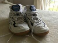 Asics Indoor Gel Sports SHoes - White - men's size 40