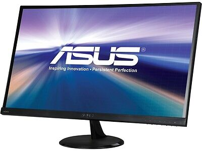 "شاشة ليد جديد ASUS VC279H Slim Bezel Black 27"" 5ms (GTG) HDMI Widescreen LED Backlight LCD Mon"