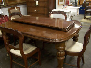 Antique Table and 4 Chairs WAS $350 NOW $300