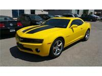 2011 Chevrolet Camaro 1LT RS//6 SPEED //YELLOW//CERTIFIED//2 YEA