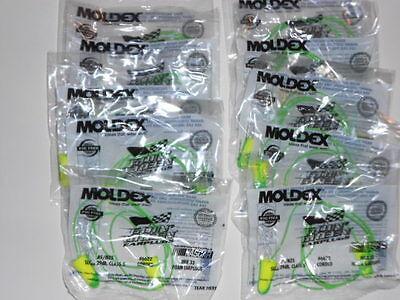 Moldex Goin Green Foam Ear Plugs Corded 10 Pair Nrr33 Nascar