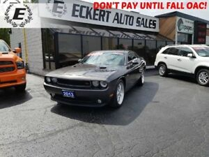 2013 Dodge Challenger R/T WITH LEATHER, SUNROOF, 5.7L HEMI