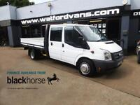 2013 Ford Transit T350 2.4TDCi One Stop Dropside E/Windows 6-Speed Diesel white
