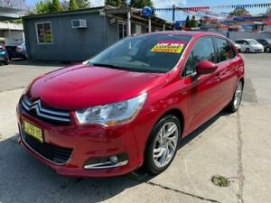 2011 Citroen C4 B7 Attraction Red 4 Speed Sports Automatic Hatchback Lansvale Liverpool Area Preview