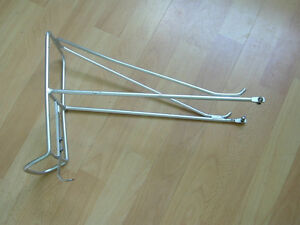 front rack foldable, wired frame rear rack