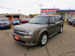 2013 FORD FLEX SEL 7 PASSANGER LEATHER DBL SUNROOF CAMERA LOADED