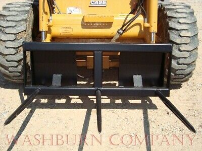 Skid Steer Hay Bale Stacker 3-39 Spears 5 Wide Hd Frame
