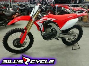 2019 HONDA Competition CRF 450 RK   Electric Start FI Red