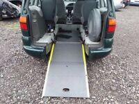 VW SHARAN WHEEL CHAIR ACCESS DISABILITY CAR