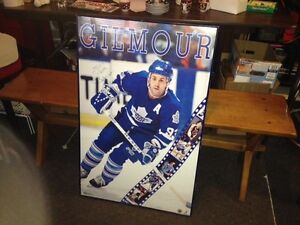 Doug Gilmour Signed to Beth 22 x 34