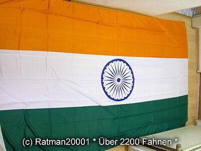 Fahnen Flagge Indien - 1 - 90 x 150 cm