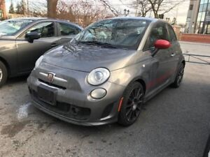 2013 Fiat 500 Abarth LEATHER*HEATED SEATS*NAVIGATION