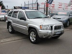 2003 Jeep Grand Cherokee WG Overland (4x4) Silver 5 Speed Automatic Wagon Brooklyn Brimbank Area Preview