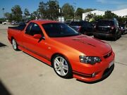 2005 FPV Pursuit BA MkII Orange 6 Speed Manual Utility Wacol Brisbane South West Preview