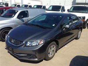 2013 HONDA CIVIC LX sedan grey just 44.000 km