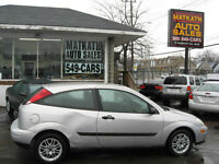 **2000 Ford Focus ZX3** Certified & E-tested
