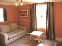 A well presented third floor studio flat with a sofa bed.
