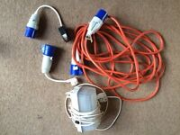 Electric Hook up Accessories and 10m cable
