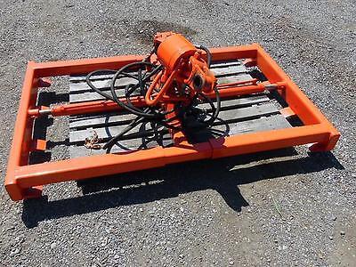 Hydraulic Truck Crane Rotator Sheet Metal Grapple