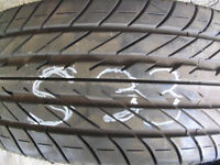 One  Goodyear Eagle F-1 245/45ZR17 Used Tire