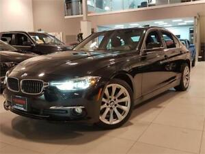 2017 BMW 3 Series 320i xDrive-NAVIGATION-SUNROOF-ONLY 72K