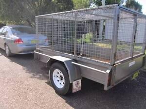 2500 x 1650    TRAILER with  lockable cage  &  REGO Kurri Kurri Cessnock Area Preview