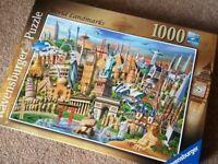 Puzzle jigsaw Ravensburger 1000p