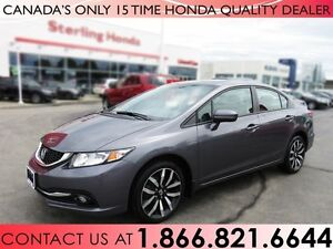 2015 Honda Civic TOURING | NO ACCIDENTS | 1 OWNER