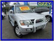 2001 Mitsubishi Pajero NM Exceed LWB (4x4) Silver 5 Speed Auto Sports Mode Wagon Minto Campbelltown Area Preview