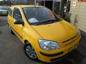 2003 Hyundai Getz TB GL Yellow 5 Speed Manual Hatchback Edgeworth Lake Macquarie Area Preview