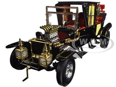GEORGE BARRIS MUNSTER MUNSTERS KOACH 1/18 DIECAST MODEL CAR BY AUTOWORLD AW233