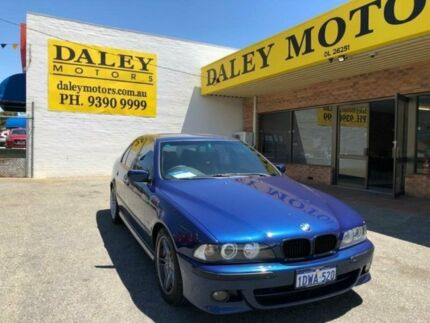 2002 BMW 530i E39 MY02 Sport Steptronic Dark Blue 5 Speed Sports Automatic Sedan Armadale Armadale Area Preview