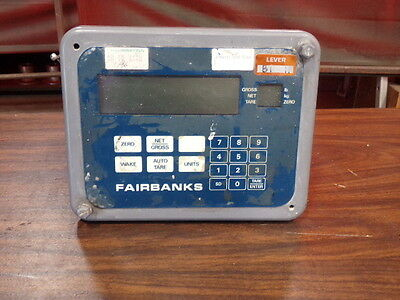 Fairbanks Floor Scale Monitor Calculator Model H903042