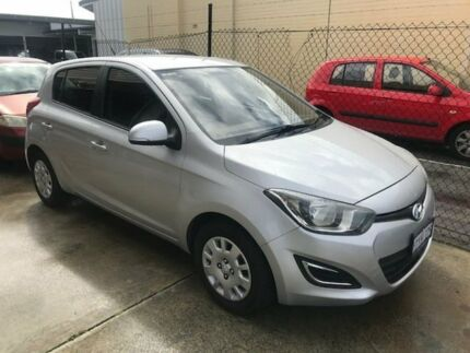 2012 Hyundai i20 PB MY12 Active Silver 4 Speed Automatic Hatchback Welshpool Canning Area Preview