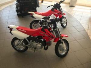 2018 Honda CRF50 dirt bike - Clearance -  only $1449.00